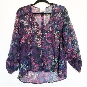 Urban Outfitters Pins and Needles NWOT Floral Top